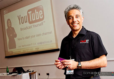Ara Martirossian from Red IT: Using YouTube