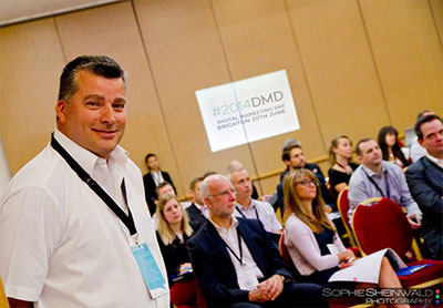 Paul Yates-Smith introducing the 2014 Digital Marketing Day